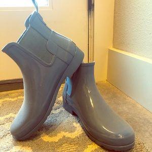 Hunter rain boots booties
